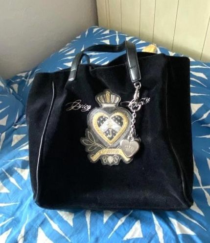 Juicy Couture Black Tote / Purse