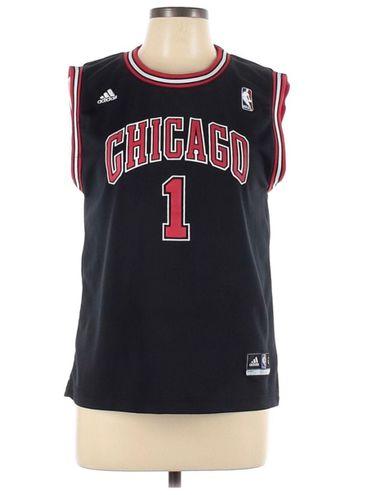 Adidas Chicago Bulls Jersey Black Size L - $33 (45% Off Retail ...