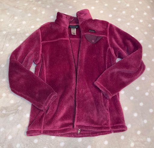 Patagonia Purple Fleece Zip Up Jacket