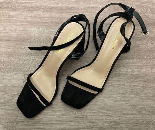 Fashion Nova You're My Favorite Block Heels