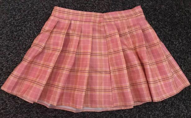 SheIn Grid Pattern Skirt