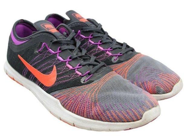 Nike Flex TR Gray & Purple Trainers