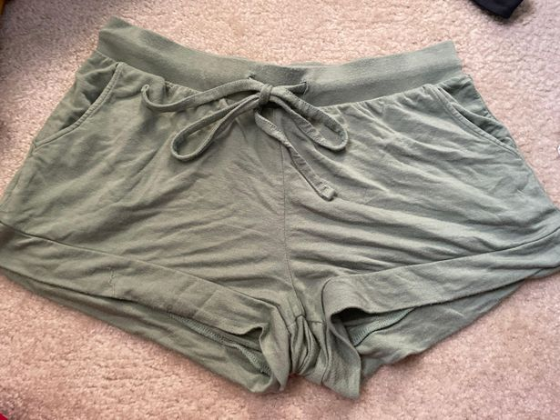 Green Soft Shorts