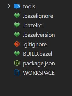 New Bazel Project Workspace