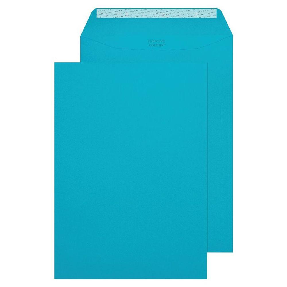 Cocktail Blue C4 Pocket Envelopes 120gsm, Pack of 250 - 409P