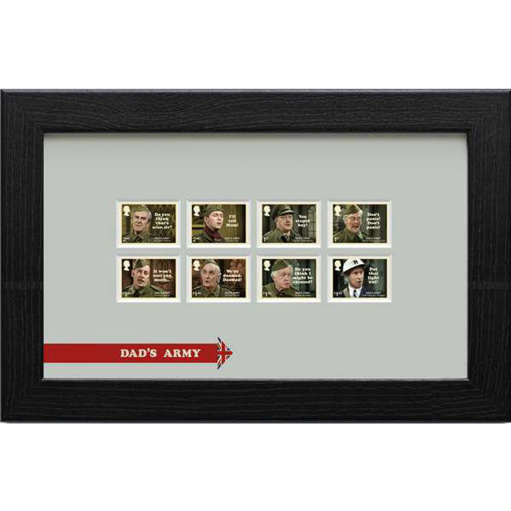 The Dads Army Framed Stamps - N3128