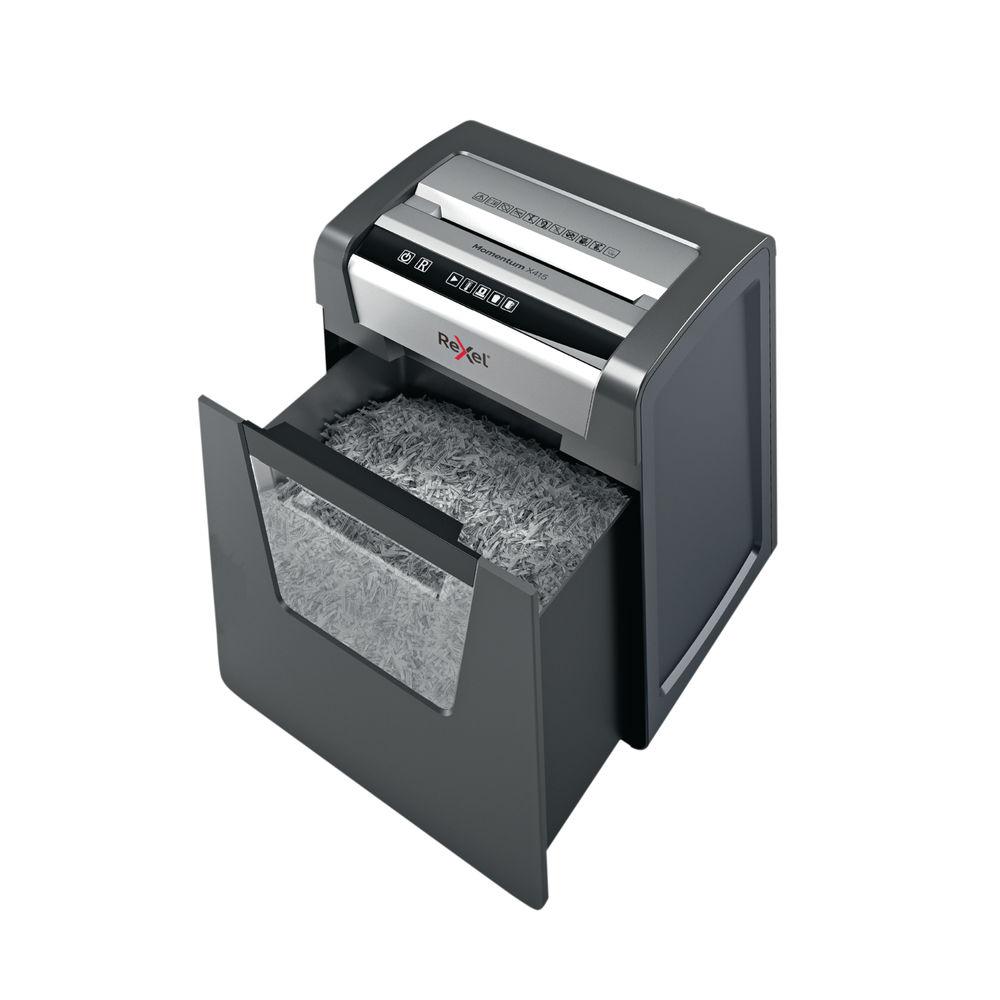 Rexel Momentum X415 Cross-Cut Shredder - 2104576