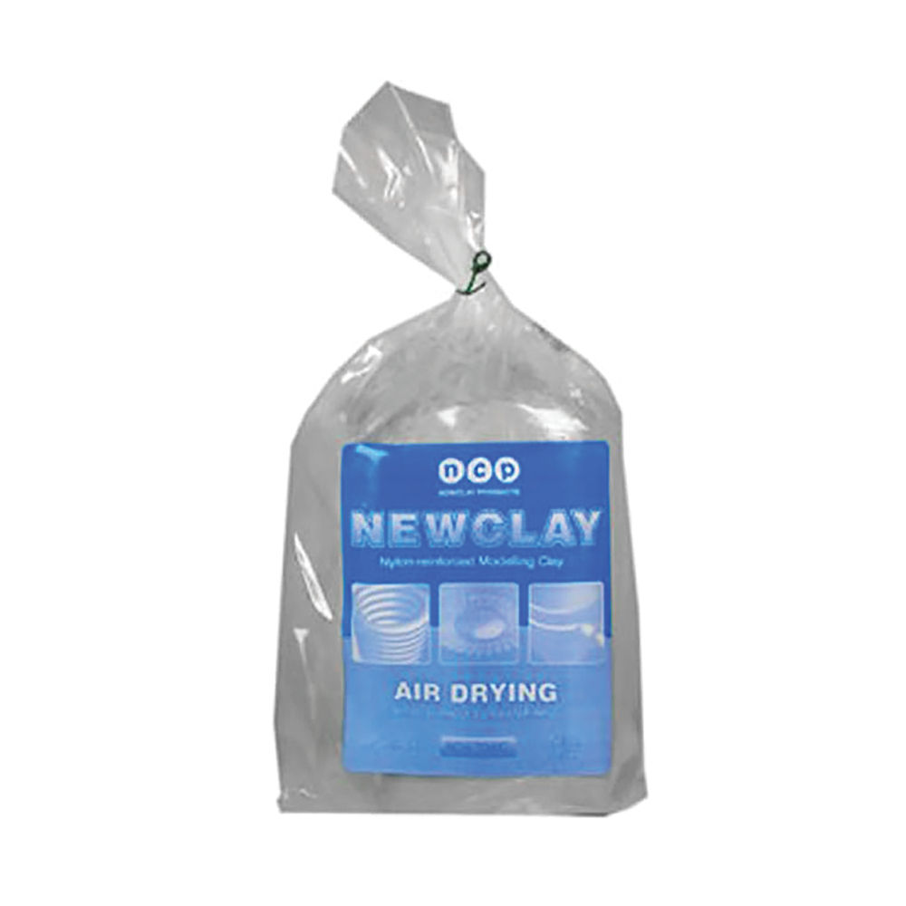 Air Drying Modelling Clay 12.5kg Stone NCP28B