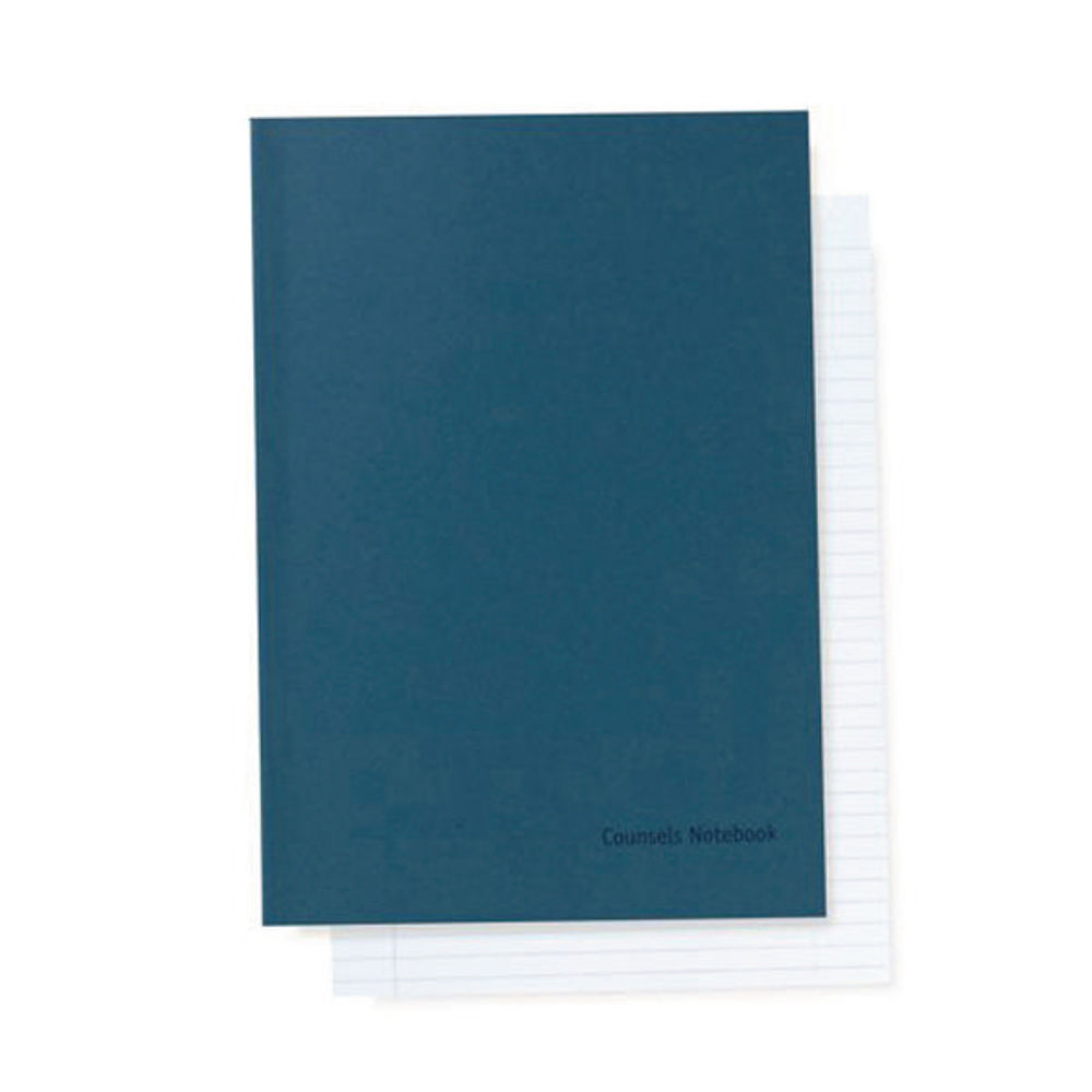 Legal Counsel A4 Blue Notebook – 1230493