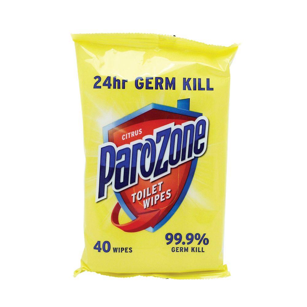 Parozone Toilet Wipes 40 Sheets (Pack of 8) KJEYSJY02058