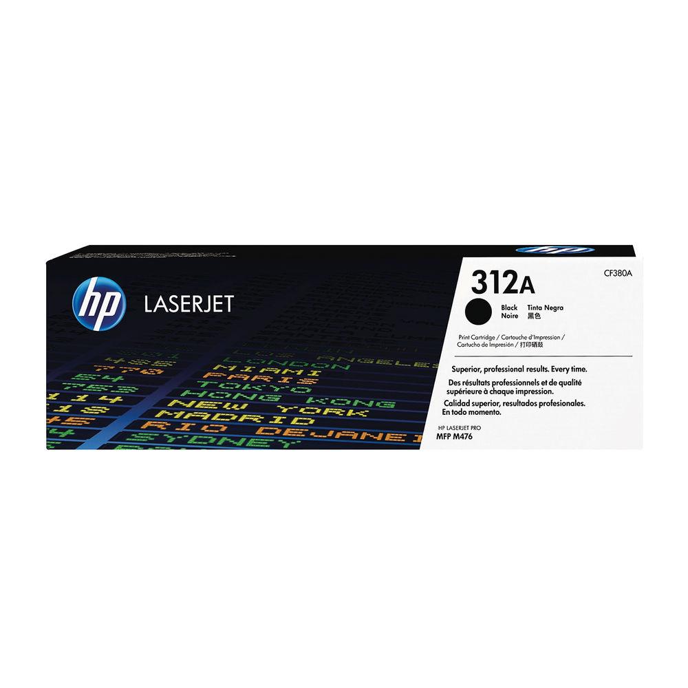 HP 312A LASERJT CART 2.4K BLK CF380