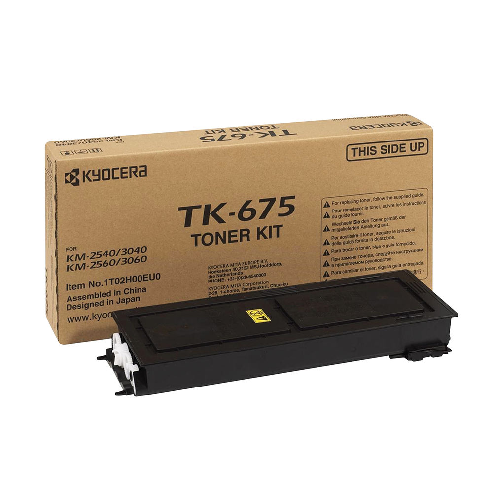 Kyocera KM2560/3060 Laser Black Toner Cartridge TK-675