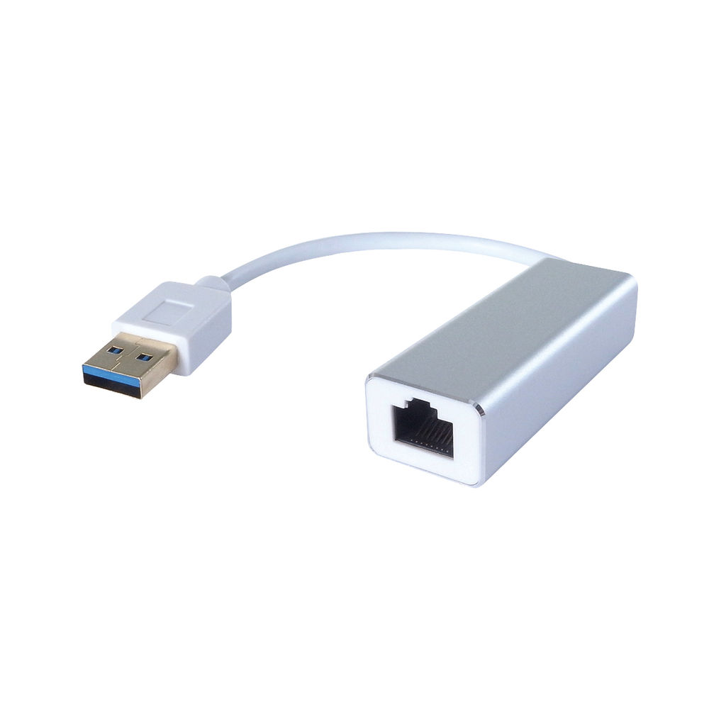 Connekt Gear USB 3 to RJ45 Cat6 Gigabit Ethernet Adaptor - 26-2970