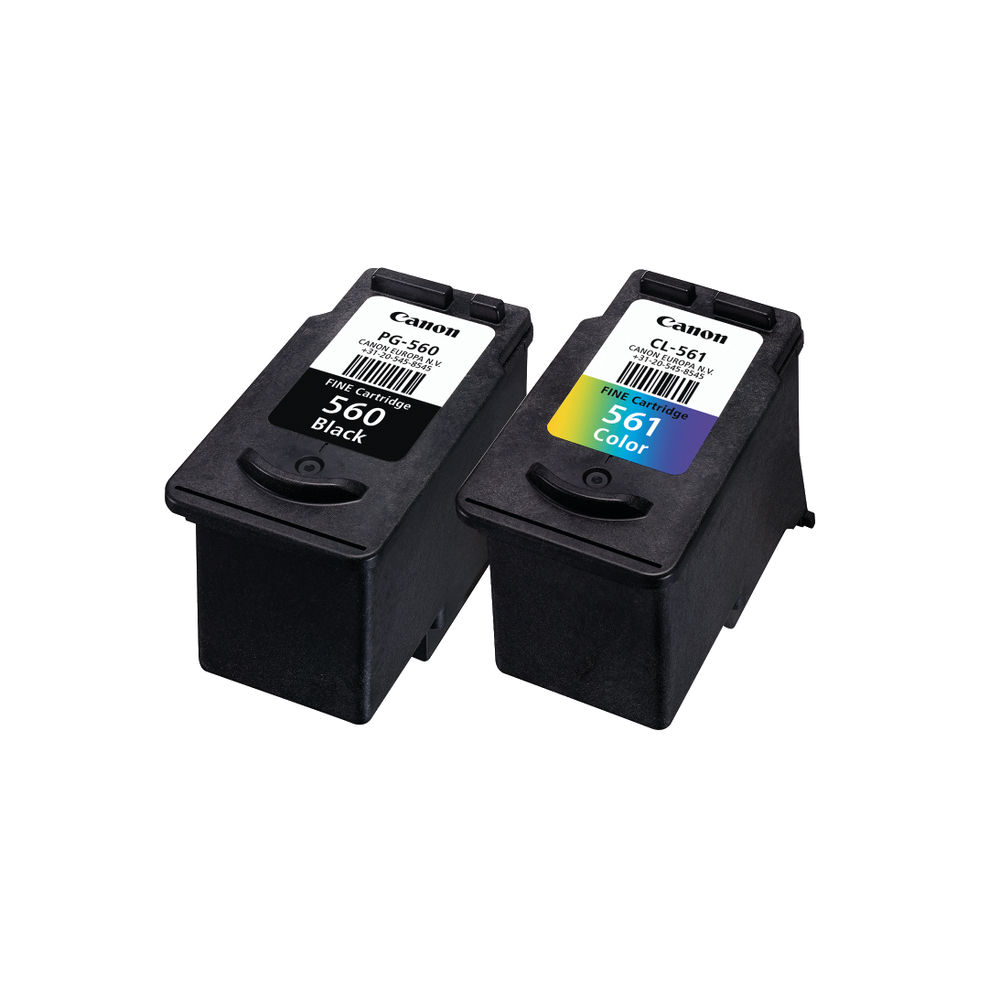 Canon PG-560/CL-561 Black and Colour Ink Multipack - 3713C006