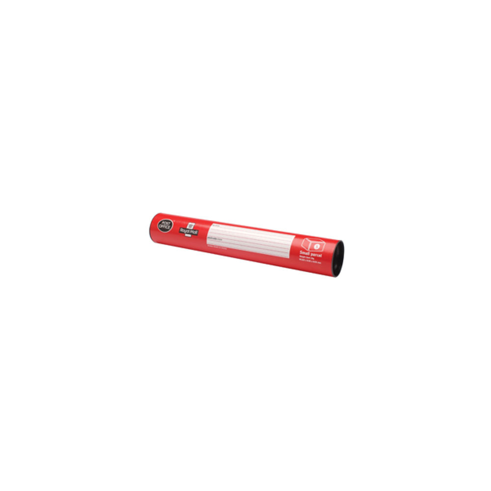 PostPak Small Mailing Tube, 320mm x 55mm x 55mm - POF02714