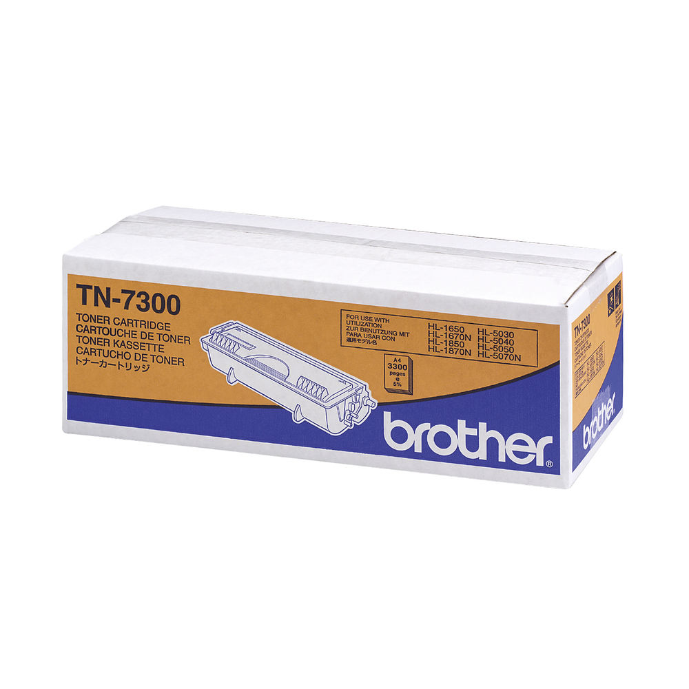 Brother TN7300 Black Laser Toner Cartridge TN-7300