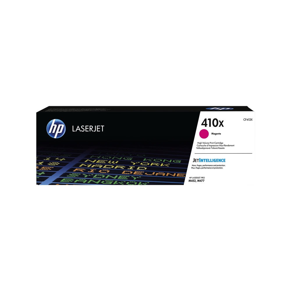 HP 410X High Yield Magenta Laserjet Toner Cartridge CF413X