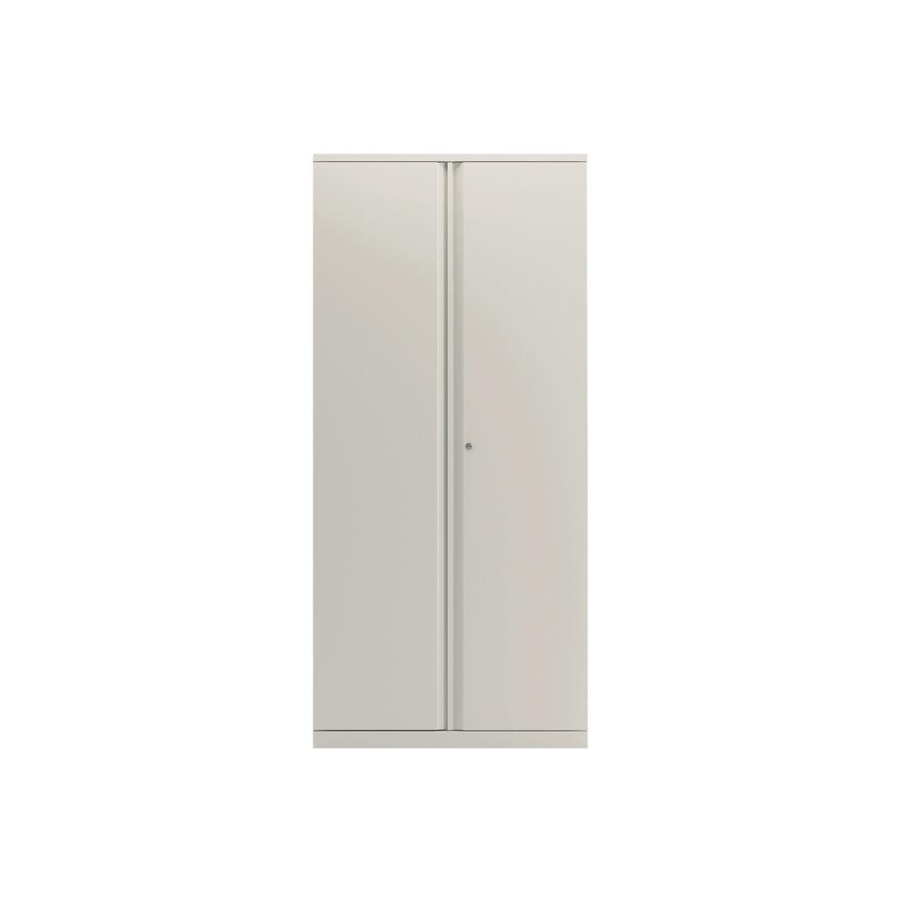 Bisley 1970mm Chalk White 2 Door Empty Cupboard - BY78716
