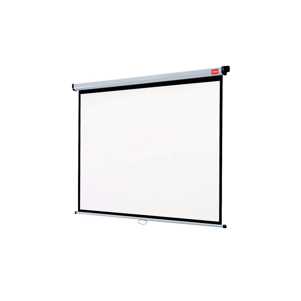 Nobo 1750 x 1325mm Wall Mounted Projection Screen - 1902392