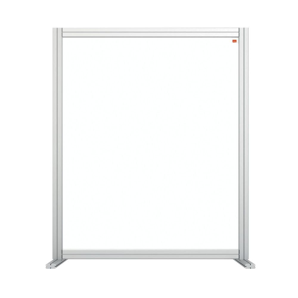 Nobo 1200mm Clear Acrylic Modular Desk Divider