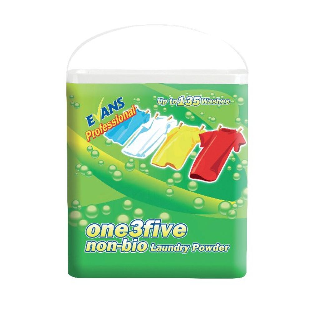 Evans 10kg One3Five Non-Biological Laundry Powder - C049AEV