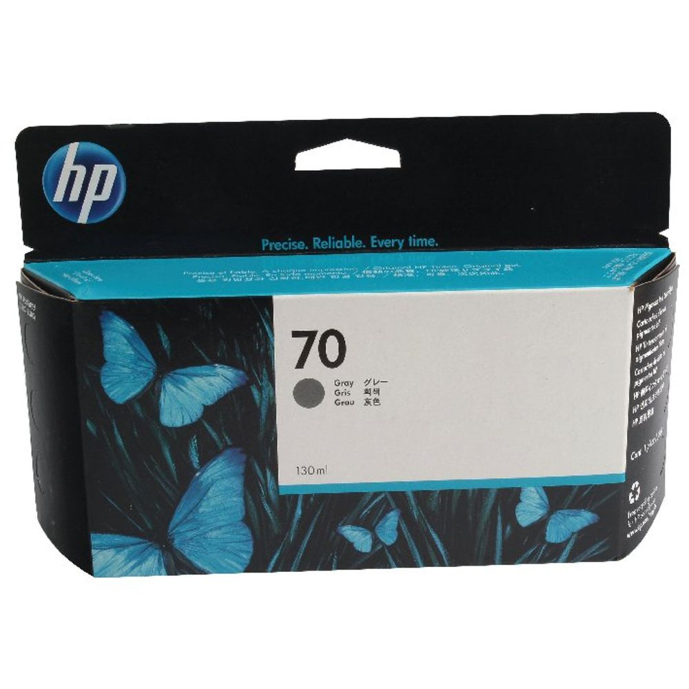 HP 70 Grey Inkjet Cartridge 130ml | C9450A