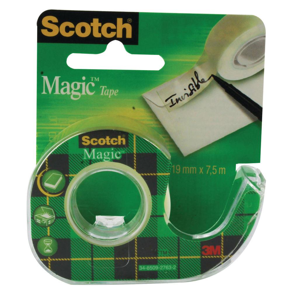 Scotch Magic Tape 19mm x7.5m Matte (Pack of 12) 81975D