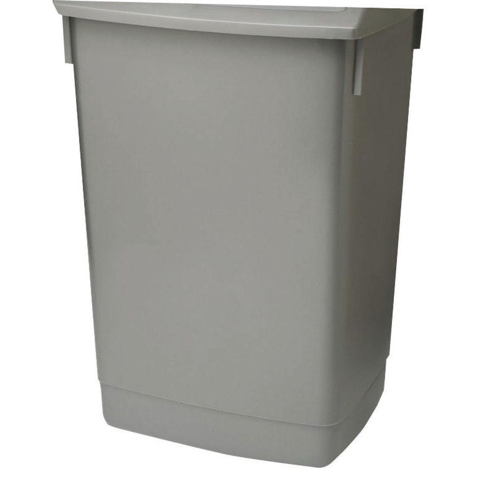 Addis Metallic Grey 60 Litre Flip Top Bin Base - 504896