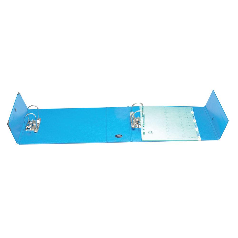 Arianex A4 Blue PVC Double Lever Arch File 100mm - AK11501