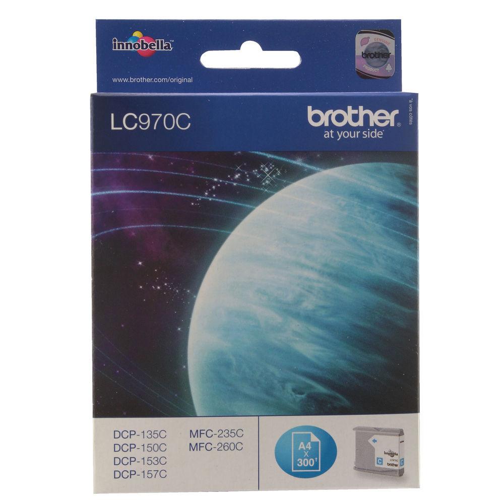 Brother LC970C Cyan Ink Cartridge - LC970C