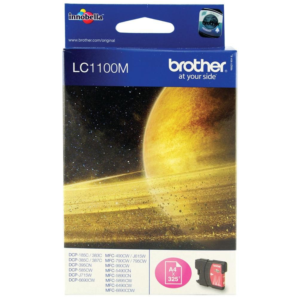 Brother LC1100M Magenta Inkjet Cartridge