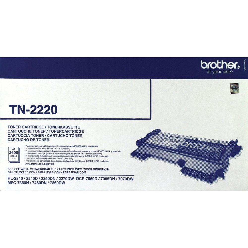 Brother High Yield Black TN2220 Toner Cartridge