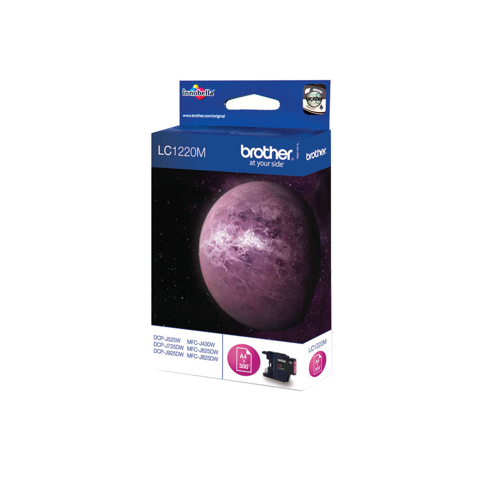Brother LC-1220 Magenta Ink Cartridge - LC1220M