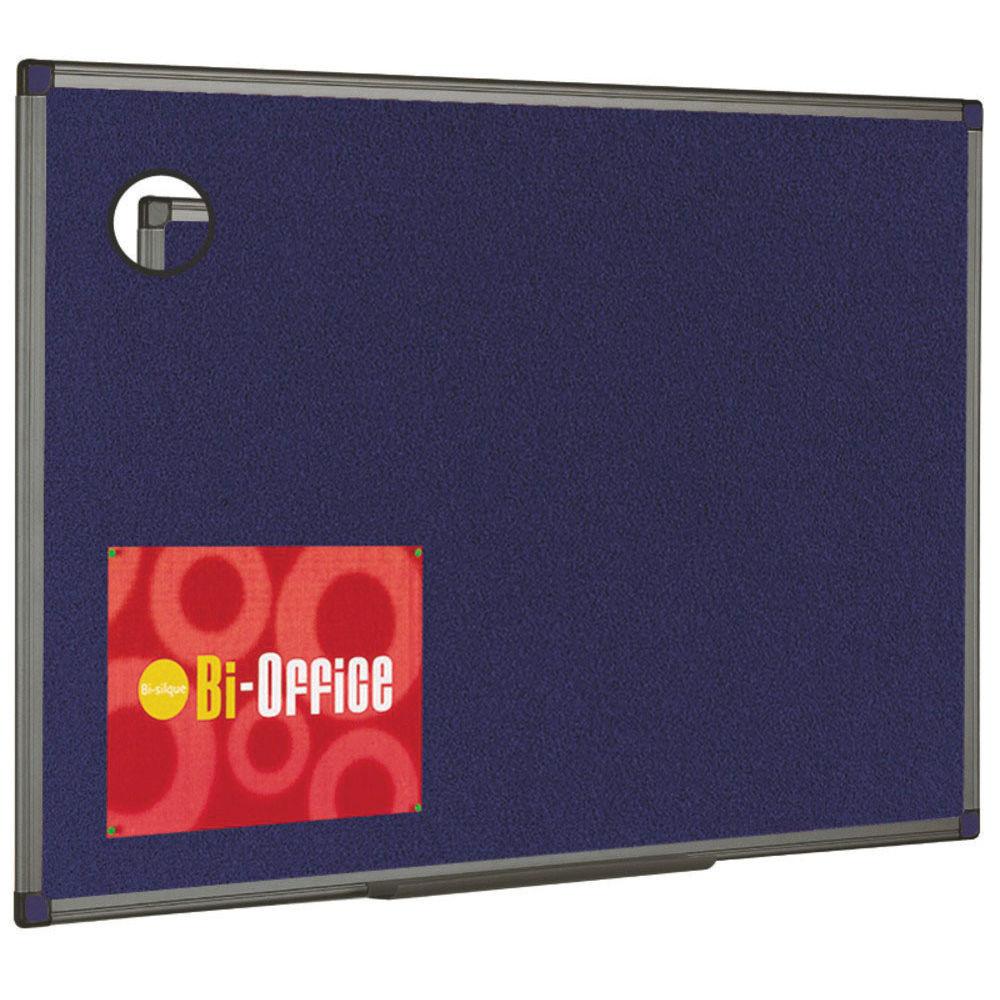 Bi-Office Blue Feltboard Aluminium – BQ04431