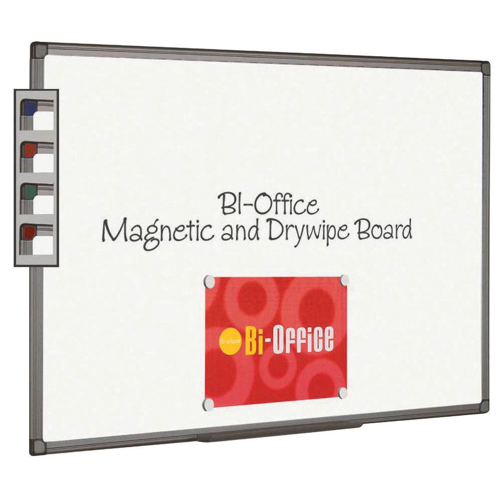 Bi-Office 1200 x 900mm Magnetic Drywipe Whiteboard - MB1406186