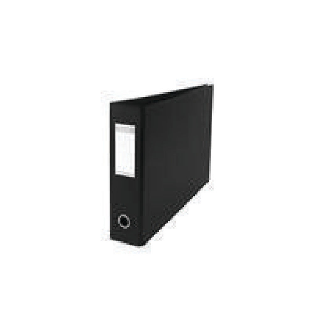 Elba Black A3 Oblong Lever Arch Files 70mm - Pack of 2 - 400008440