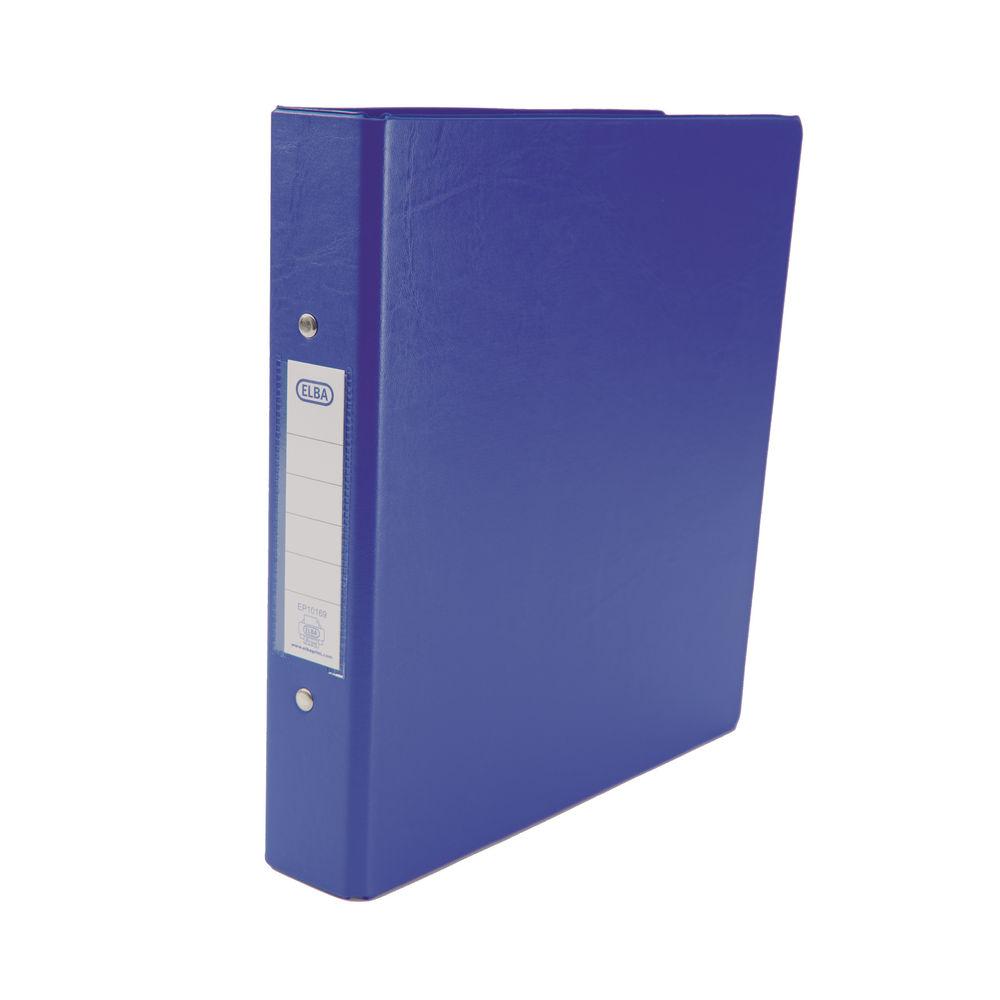 Elba Blue A5 2 O-Ring Binder 25mm, Pack of 10 - 100082443