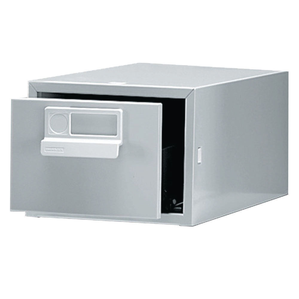 Bisley 6 x 4 Inches Single Grey Card Index Cabinet - FCB14