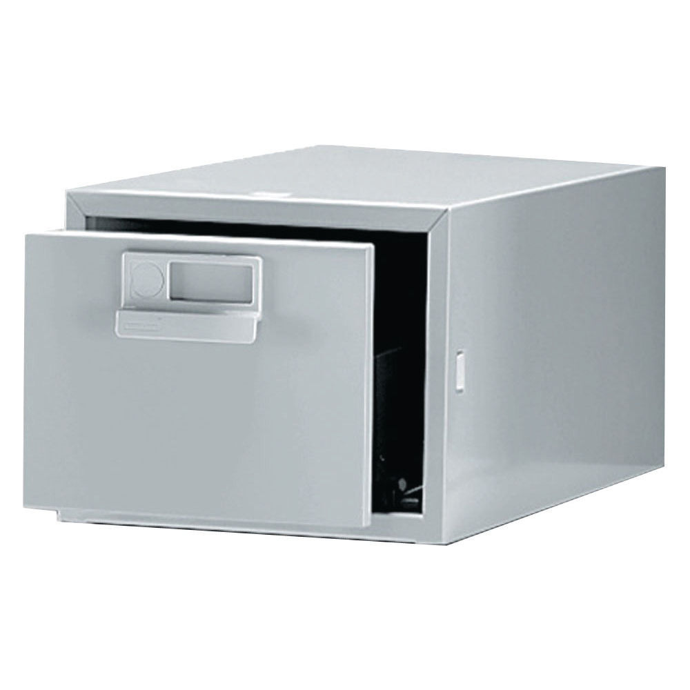 Bisley 8 x 5 Inches Single Grey Card Index Cabinet - FCB15