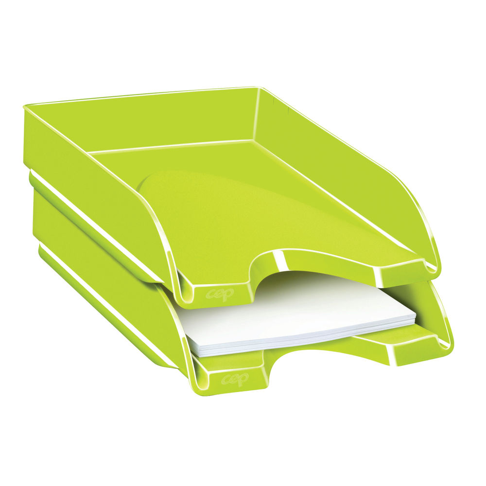 CepPro Gloss Green Letter Tray - 200G GREEN