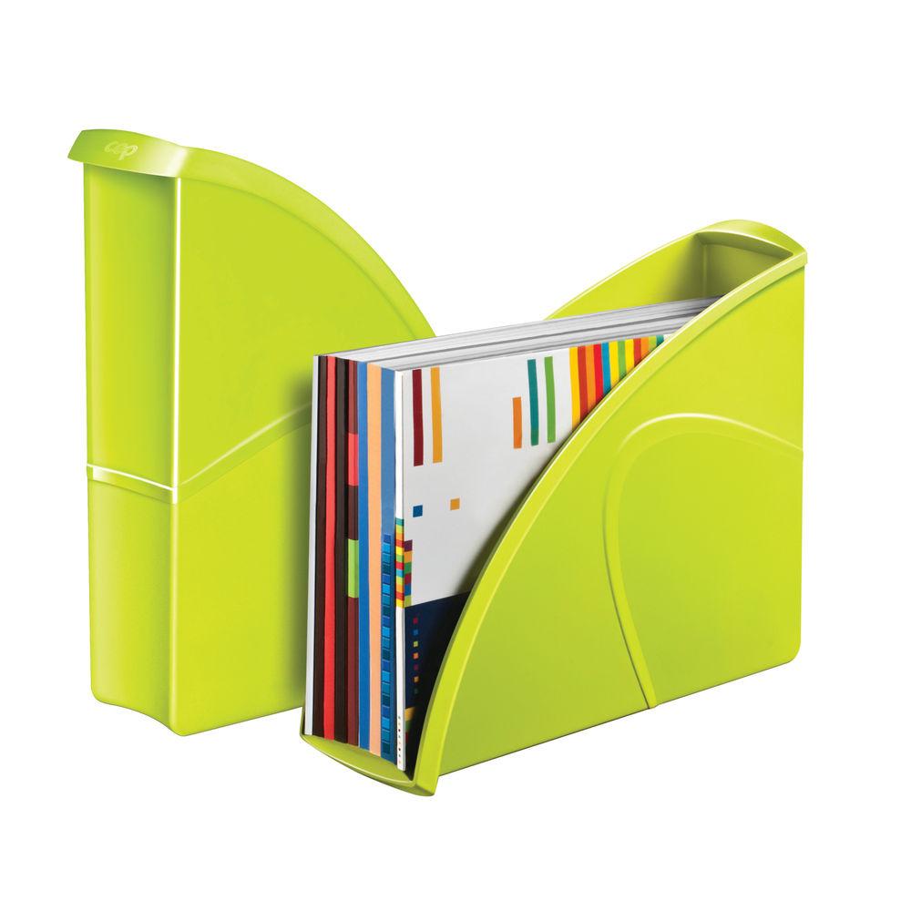 CepPro Gloss Green Magazine Rack - 674G GREEN