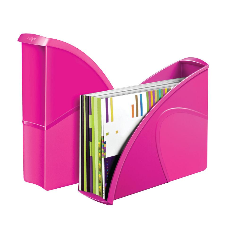 CepPro Gloss Pink Magazine Rack - 674G PINK