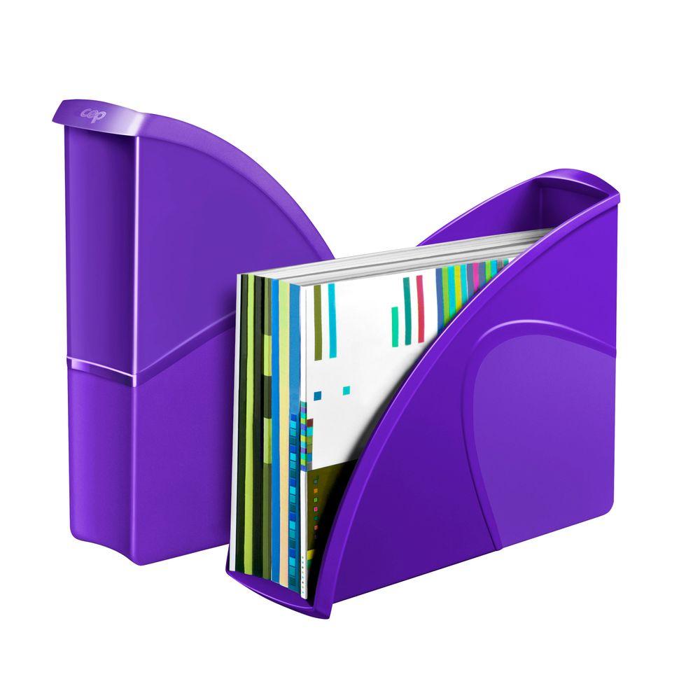 CepPro Gloss Purple Magazine Rack - 674G PURPLE