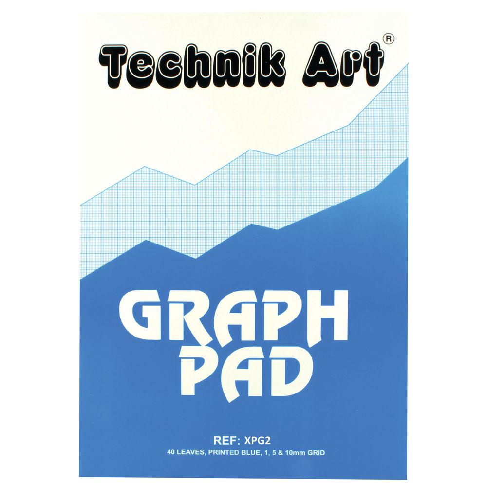 Technik Art A3 Graph Pad, 40 Sheets - XPG2