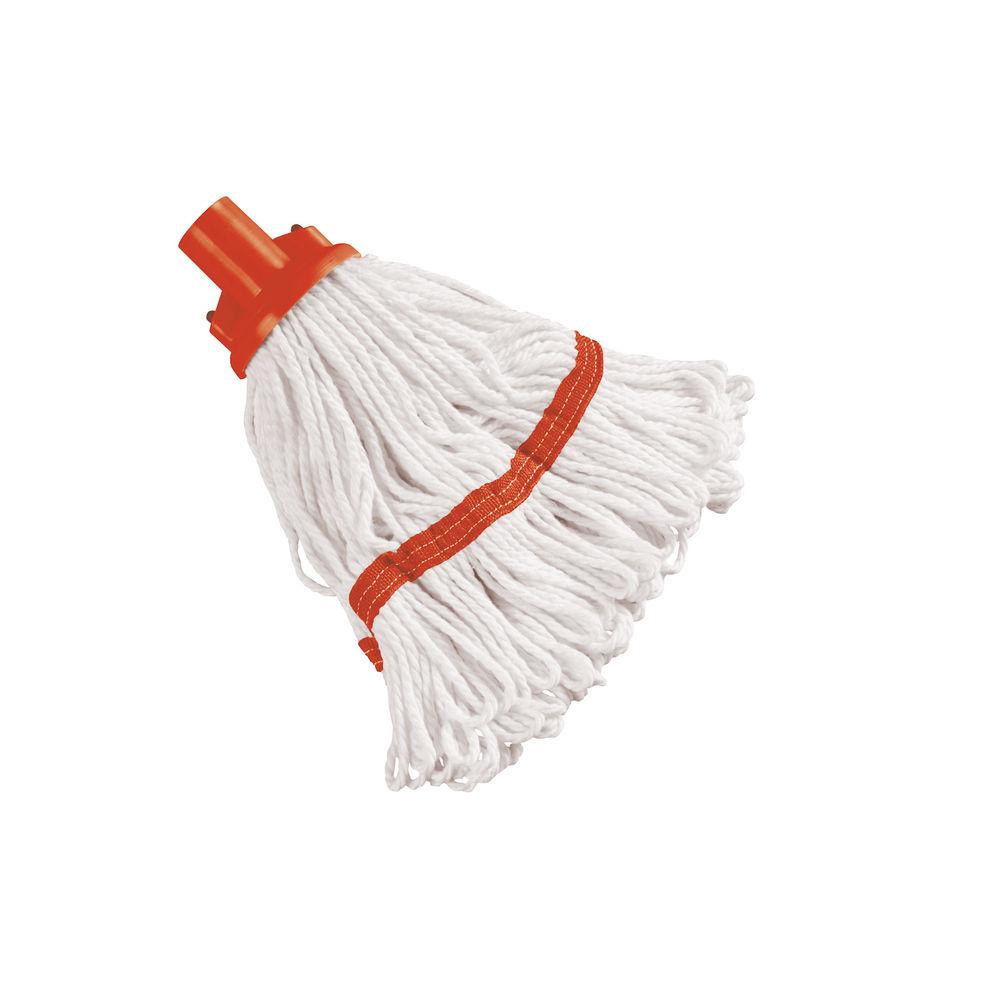 Red 180g Hygiene Socket Mop Head - 103061