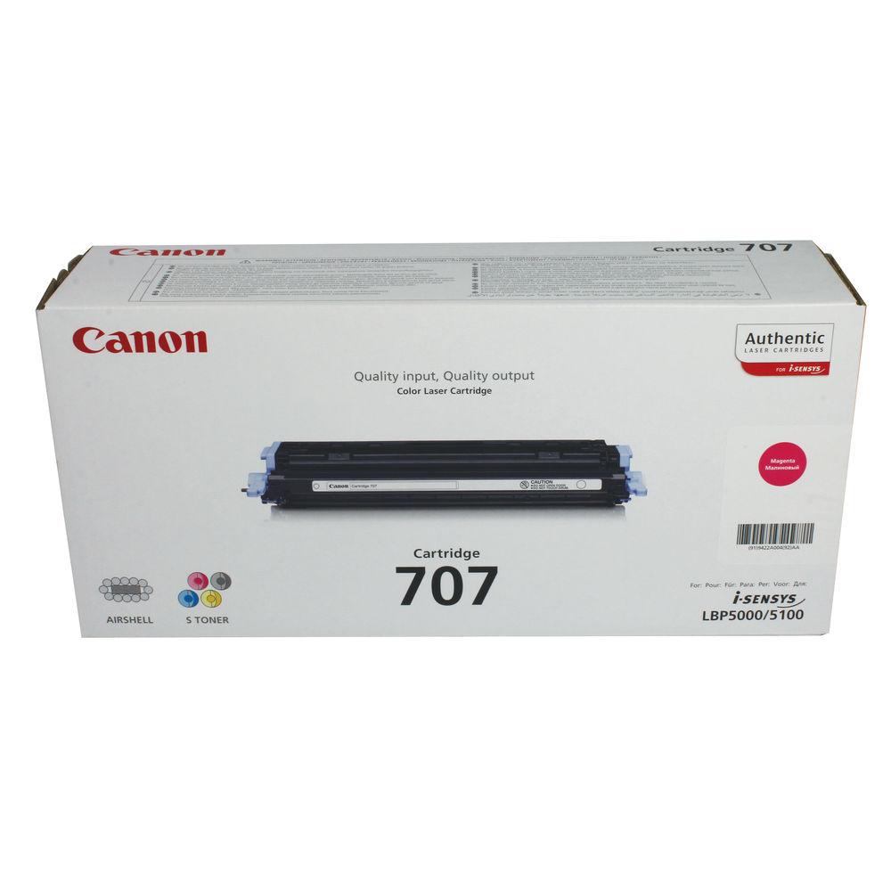 Canon 707 Magenta Toner Cartridge - 707 M