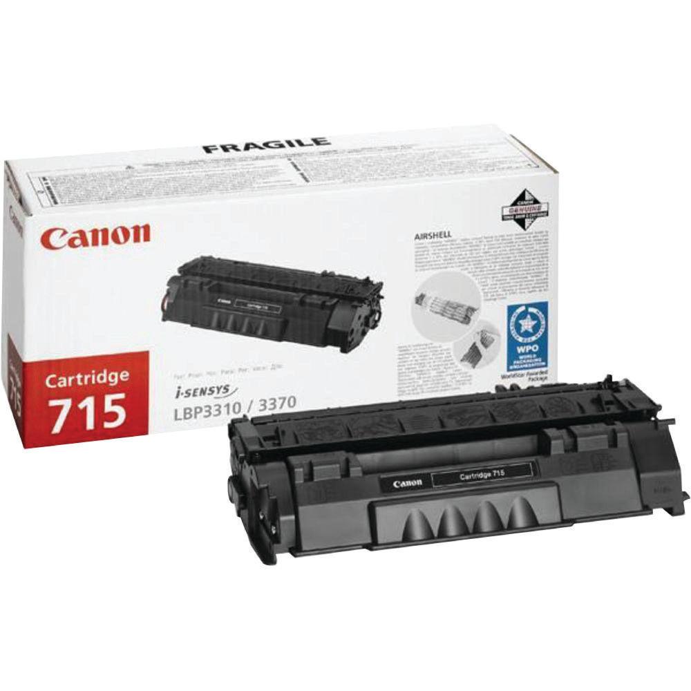 Canon 715 Black Toner Cartridge - CRG 715
