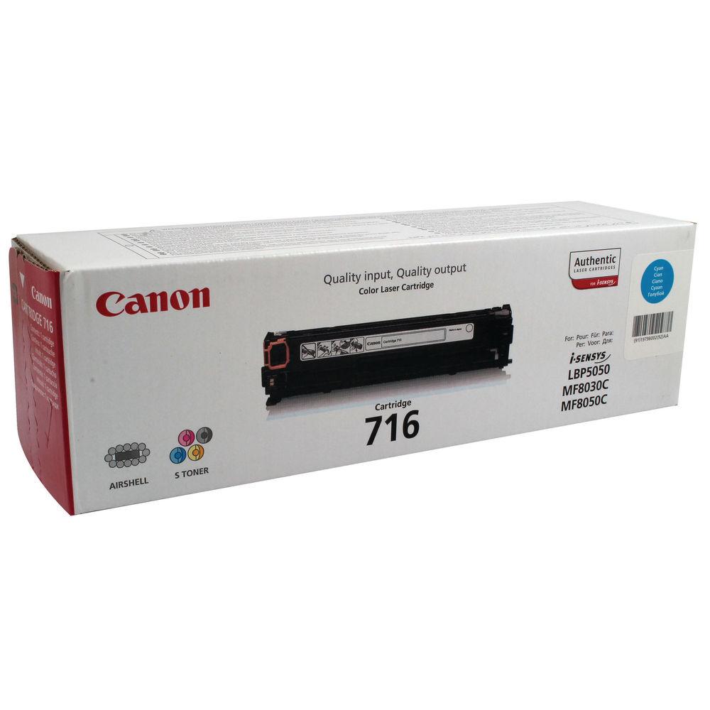 Canon 716 Cyan Toner Cartridge - 716 C
