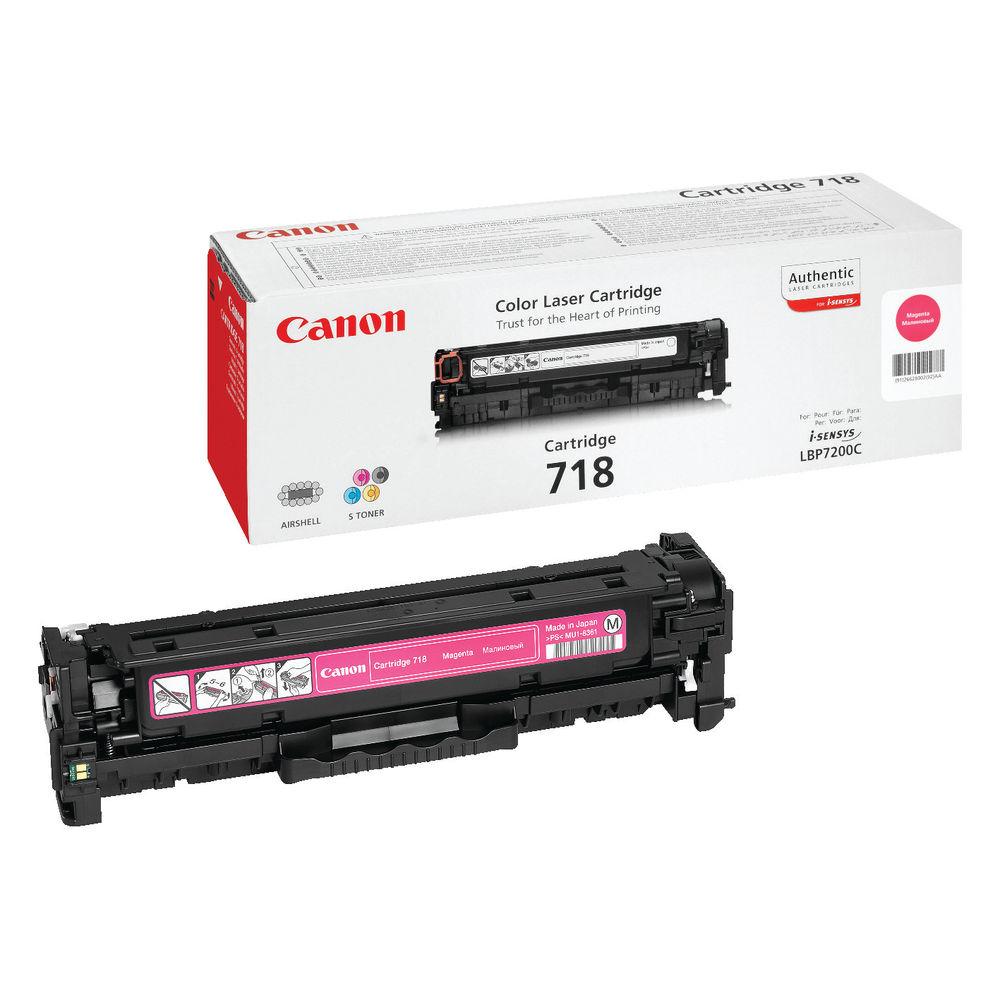 Canon 718 Magenta Toner Cartridge - 716 M
