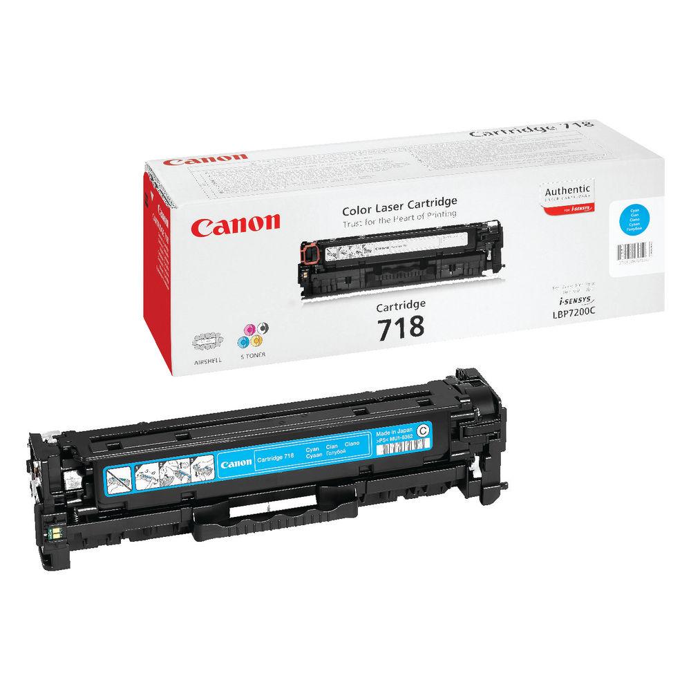 Canon 718 Cyan Toner Cartridge - 716 C